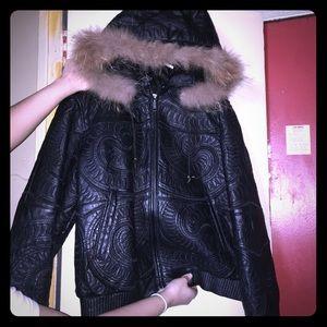 Jackets & Blazers - Women's leather coat